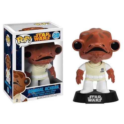 Funko Pop! Star Wars 28: Admiral Ackbar