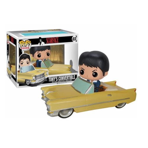 Funko Pop! Rides 03: Scarface - Tony's Convertible