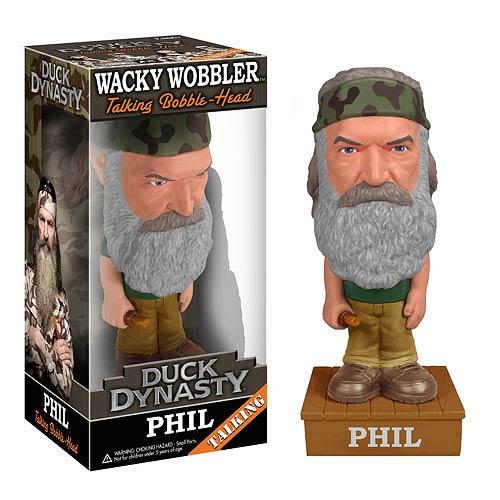 Duck Dynasty Talking Wobbler: Phil