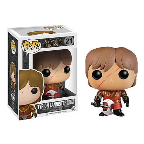 Funko Pop! Game of Thrones 21: Game of Thrones – Armored Tyrion Lannister with Scar