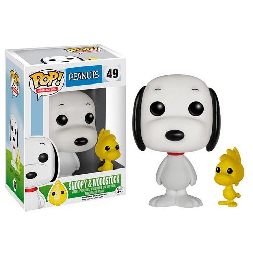Funko Pop! Peanuts 49: Snoopy and Woodstock