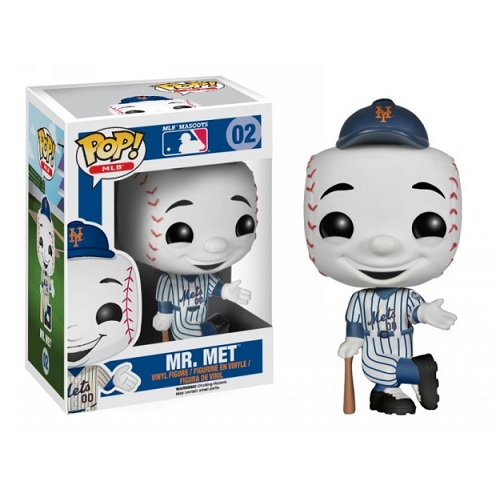 Funko Pop! MLB 02: New York Mets - Mr Met