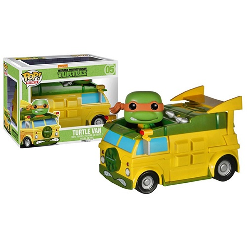 Funko Pop! Rides 05: Teenage Mutant Ninja Turtles - Turtle Van