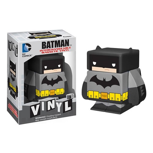 Magnetic Figure Vinyl Cubed: Black Batman