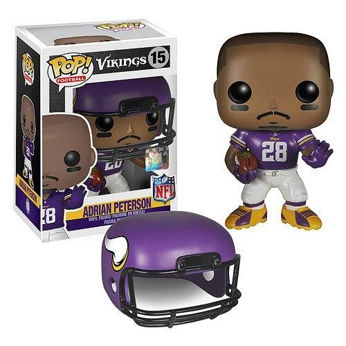 Funko Pop! Football 15: Vikings Adrian Peterson