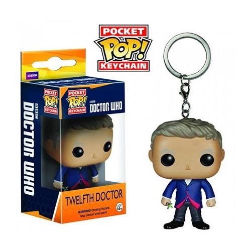 Pocket Pop! Keychain: Dr Who – Twelfth Doctor