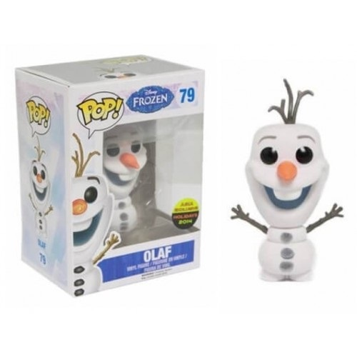 Funko Pop! Disney 79: Frozen Olaf (Flocked)