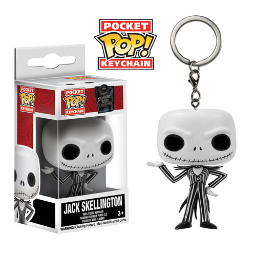 Pocket Pop! Key Chain: Nightmare Before Christmas - Jack Skellington