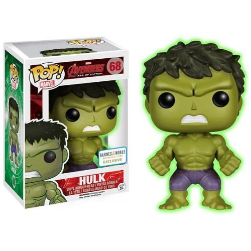 Funko Pop! Marvel 68: Age of Ultron - Hulk (GitD)