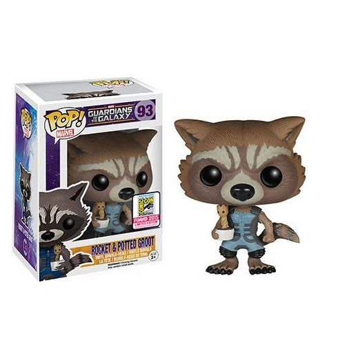 Funko Pop! Marvel 93: Guardians of the Galaxy - Rocket & Potted Groot