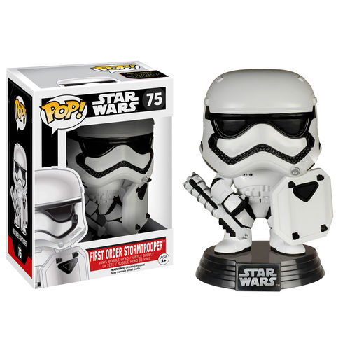 Funko Pop! Star Wars 75: The Force Awaken – First Order Riot Gear Stormtrooper (Exclusive)