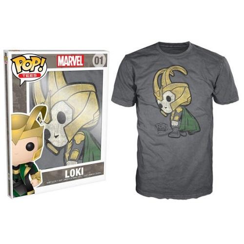 Pop Tees 01: Loki Grey (2X)