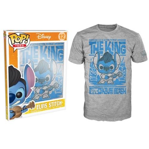 Pop Tees 12: Disney - Stitch Elvis Luau (Medium)