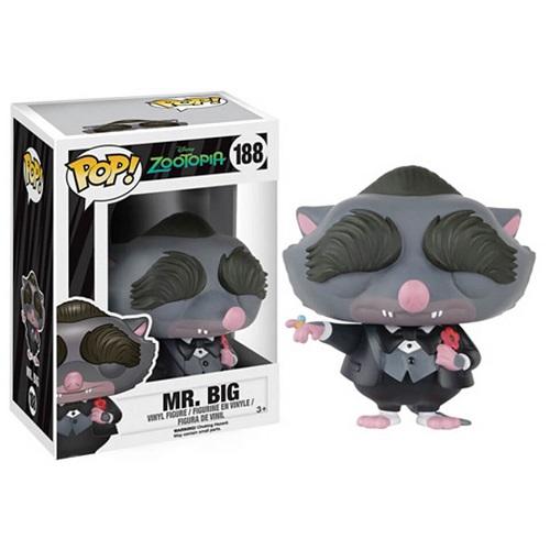 Funko Pop! Disney 188: Zootopia – Mr Big