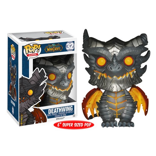 Funko Pop! Games 32: Warcraft – Deathwing