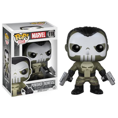 Funko Pop! Marvel 118: Punisher (Nemesis)