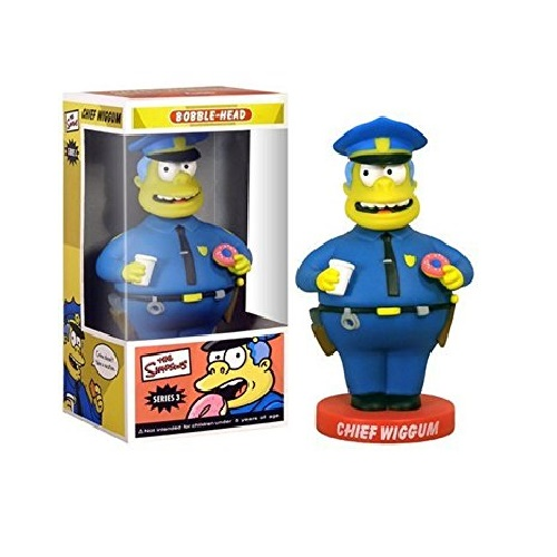 Wacky Wobbler: Simpsons - Chief Wiggum