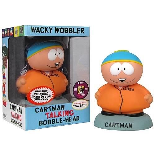Talking Bobblehead: South Park - Cartman Orange LE480