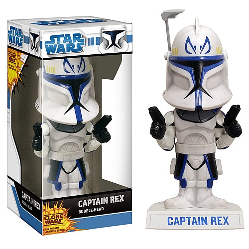 Wacky Wobbler: Star Wars - Captain Rex