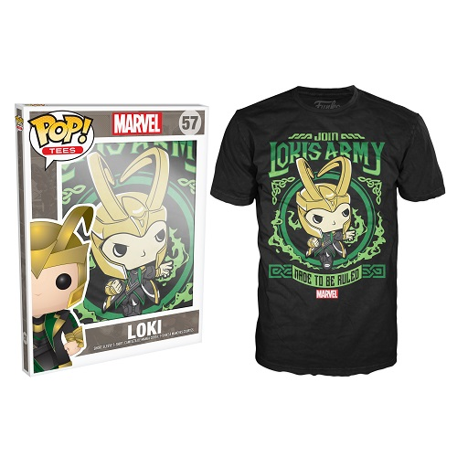 Pop Tees 57: Marvel - Lokis Army Poster (XS)
