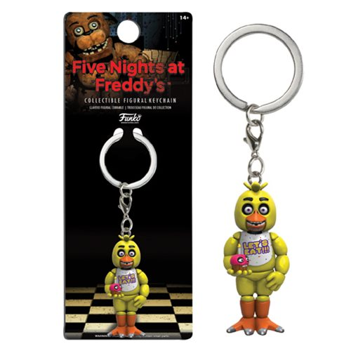Figural Keychain: Five Nights At Freddy's - Chica