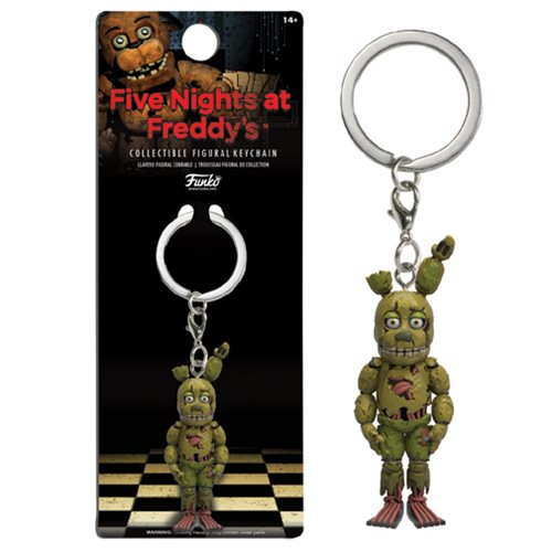 Figural Keychain: Five Nights At Freddy's - Springtrap