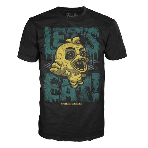 Pop Tees: Five Nights At Freddy's - Let Eat (Large)