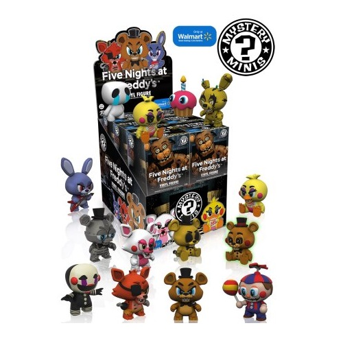 Mystery Mini: Five Nights At Freddy's S1 [Walmart Ex]
