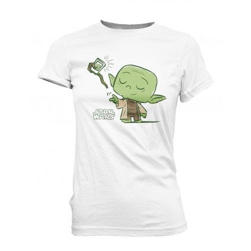 SuperCute Tees: Star Wars - Yoda Selfie (Small)