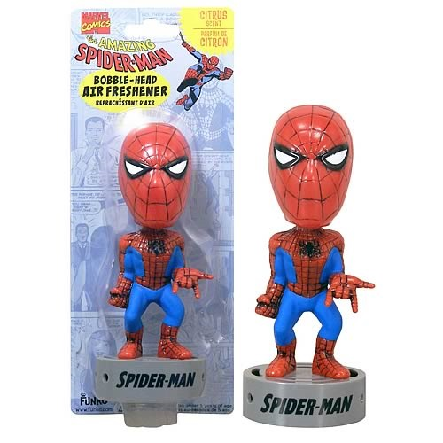 Bobblehead Air Freshener: Marvel - Spiderman