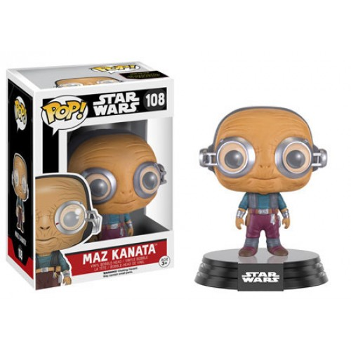 Funko Pop! Star Wars 108: The Force Awaken - Maz Kanata