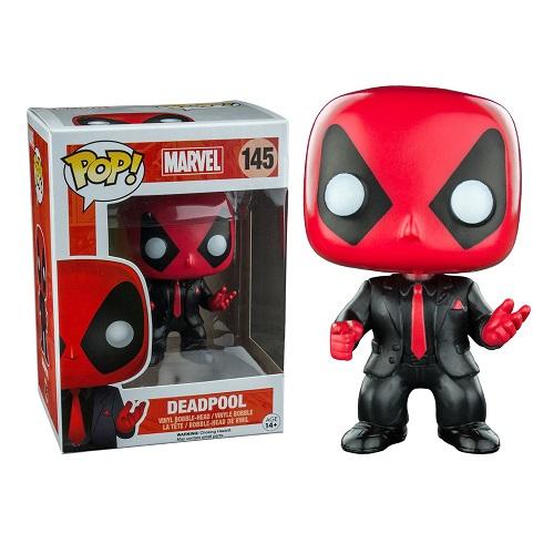 Funko Pop! Marvel 145: Deadpool Suit & Tie
