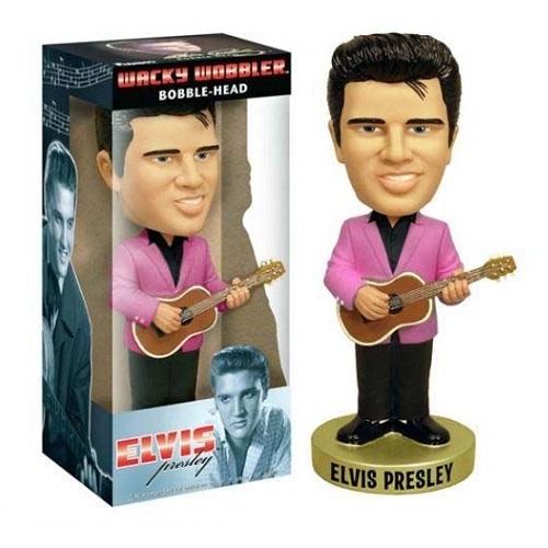 Wacky Wobbler: Elvis Presley 50's with Pink Jacket
