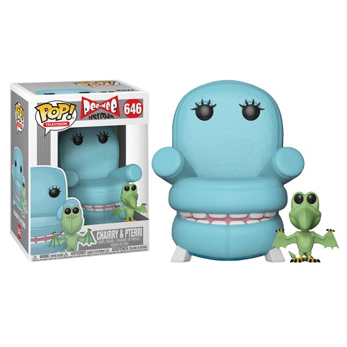 Funko Pop! Television 646: Pee-wee Herman - Chairry & Pterri