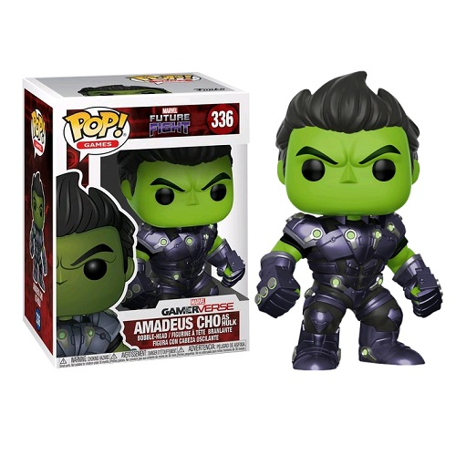 Funko Pop! Games 336: Marvel Future Fight - Amadeus Cho