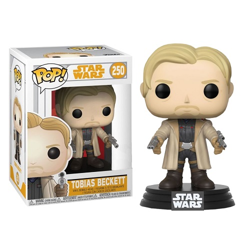 Funko Pop! Star Wars 250: Solo - Tobias Beckett with Duel Blasters (IE)