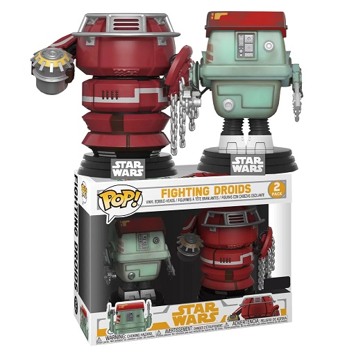 Funko Pop! Star Wars: Solo - Fighting Droids 2 Pack (IE)