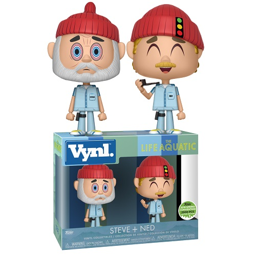 Vynl: The Life Aquatic - Steve and Ned 2 Pack (ECCC) (EX)
