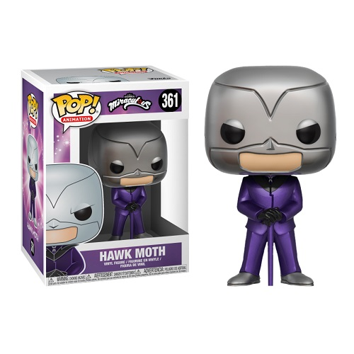 Funko Pop! Animation 361: Miraculous S1 - Hawk Moth