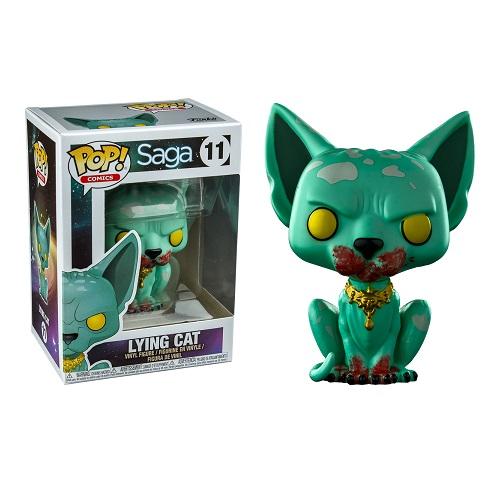 Funko Pop! Comics 11: Saga S1 - Lying Cat (Bloody) (IE)