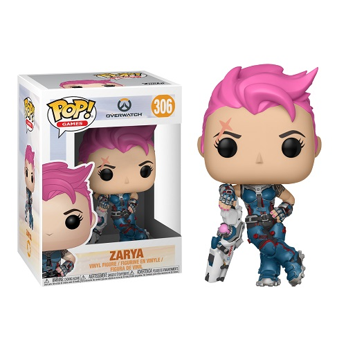 Funko Pop! Games 306: Overwatch S3 - Zarya