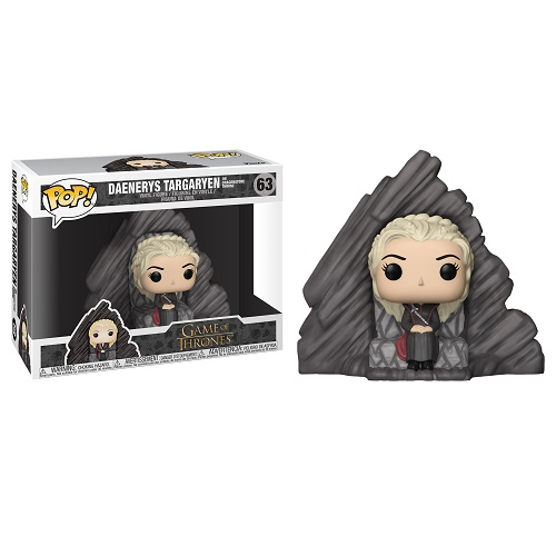Funko Pop! Rides 63: Game of Thrones S8 - Daenerys on Dragonstone Throne