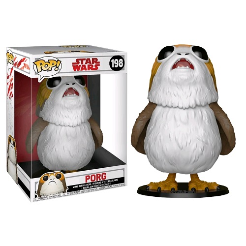 "Funko Pop! Star Wars 198: The Last Jedi - Porg 10"" (IE)"