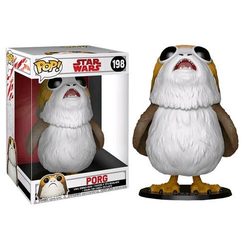 "Funko Pop! Star Wars 198: The Last Jedi - Porg 10"" (IE)"