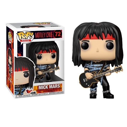Funko Pop! Rocks 72: Mötley Crüe S4 - Mick Mars
